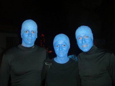 Maquiagem Fantasia de Blue Man Group – Tutorial Como Fazer