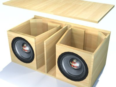 Sonorização Ambiente – Caixas Para Graves