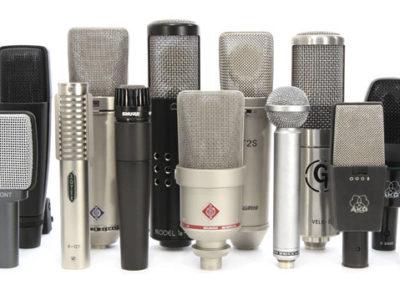 Iniciando no AUDIO PROFISSIONAL II – Microfones