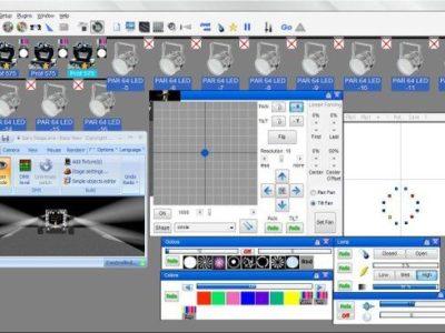 Softwares Para Controle de Iluminação DMX